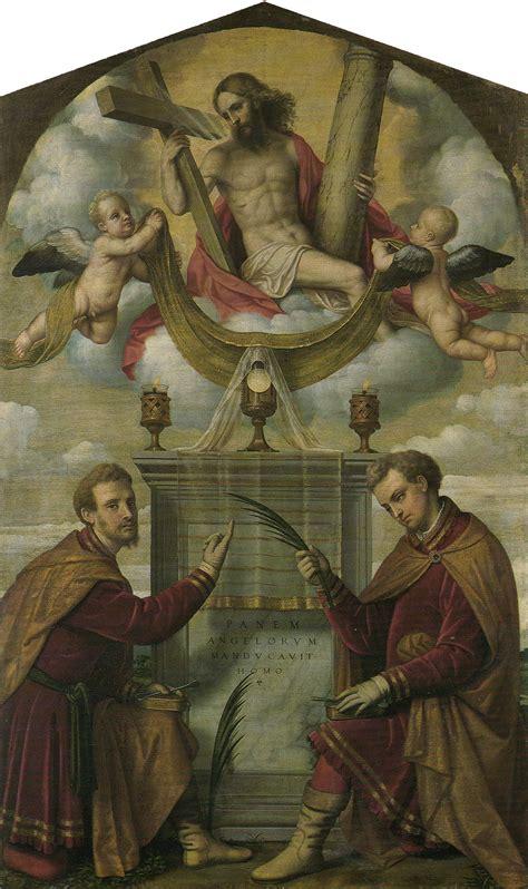 cristo eucaristico   santi cosma  damiano wikipedia