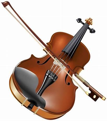 Violin Clipart Instruments Musical Web