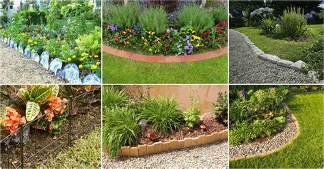 easiest garden edging ideas   budget friendly