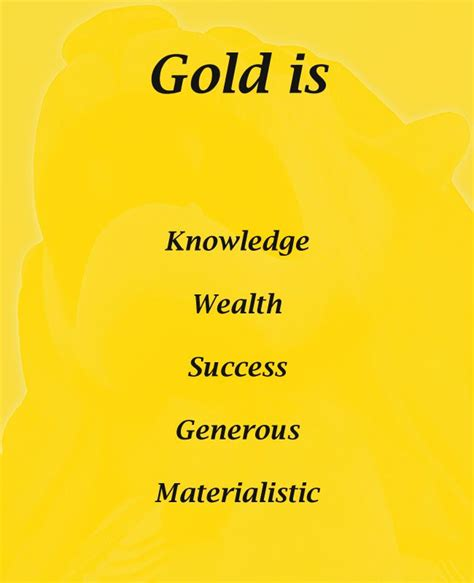 meaning of color gold color psychology meaning