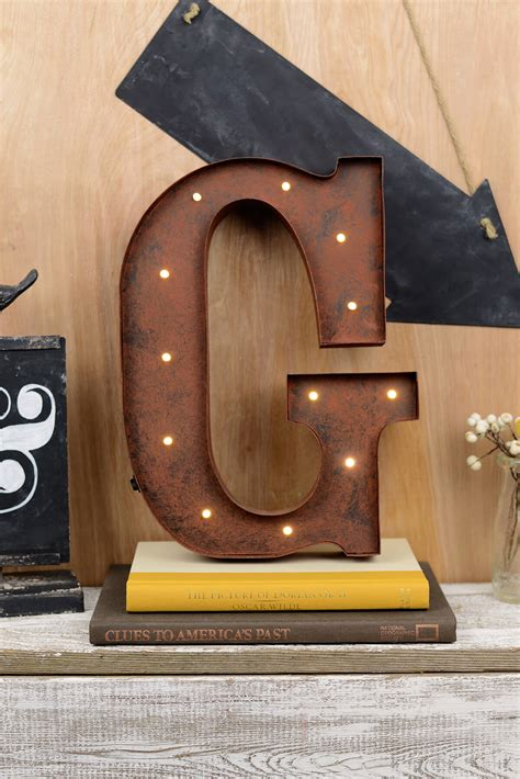 marquee letters   battery operated  warm white led