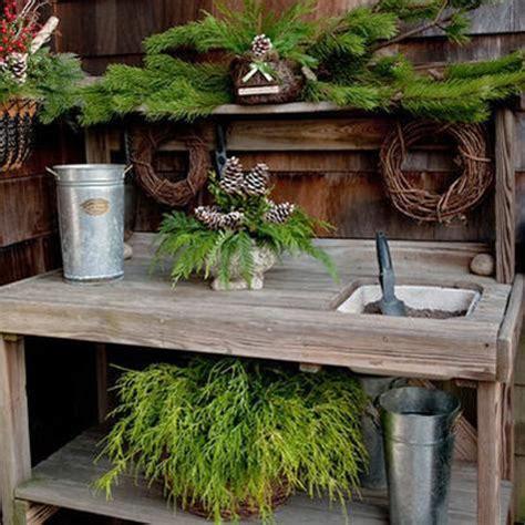beautiful potting bench design ideas creating