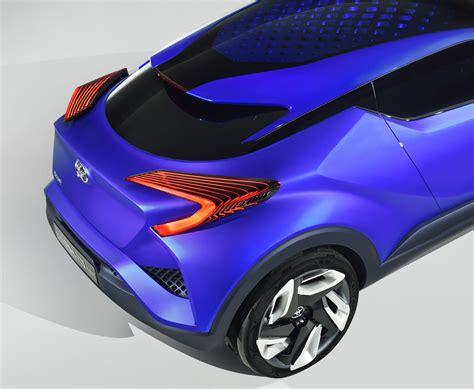Toyota C Hr Concept Diseno