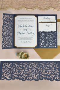 pink and gold wedding invitations best 25 pocket wedding invitations ideas on