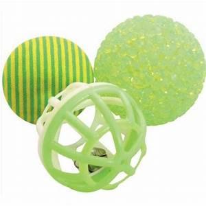 Balle Pour Chat : jouet 3 balles pour chat pour chien zolux auberdog ~ Teatrodelosmanantiales.com Idées de Décoration