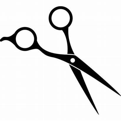 Scissors Barber Hair Vector Clipart Silhouette Accessories