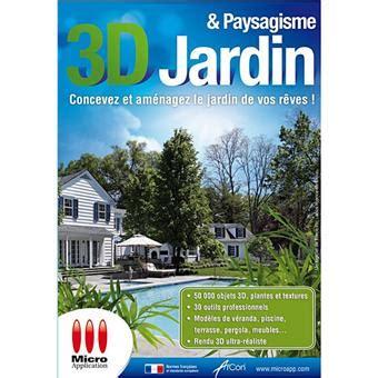 3d Jardin & Paysagisme  Dvdrom  Acheter Sur Fnaccom