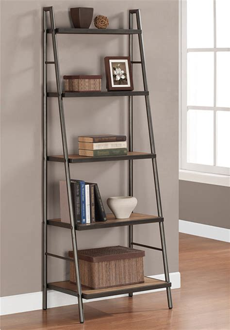 elements ladder shelf contemporary bookcases