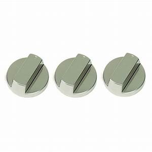 A Set Of Control Knobs  Stainless Steel