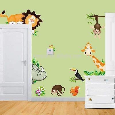 Kinderzimmer Deko Giraffe by Wandtattoo Wandsticker Deko Tiere Kinder Affe