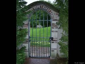 Vial Portillon Fer : elegant emejing portillon jardin fer forge gallery amazing ~ Premium-room.com Idées de Décoration