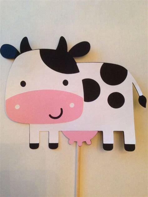 como hacer una vaca en manualidades las 25 mejores ideas sobre decoraciones de de granja