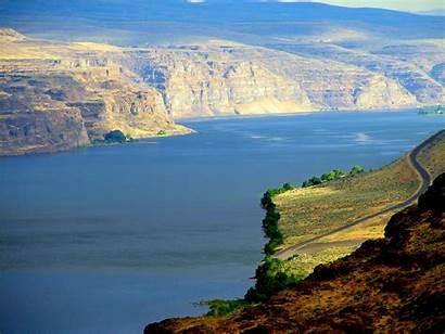 Columbia River Gorge Plateau Washington Wa Colombia