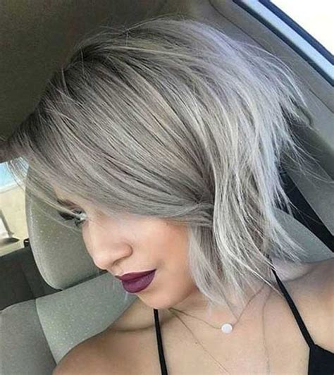 The grey hair trend has taken the internet by storm. Short Grey Hair Pics | Short Hairstyles 2017 - 2018 | Most ...