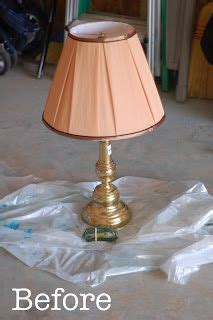 brass lamp redo   picture  great lamp