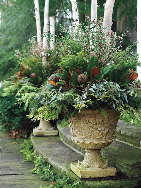 Winter Container Garden Ideas wonderful winter garden containers