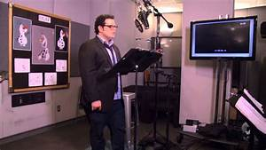 "Frozen: Josh Gad ""Olaf"" Behind the Scenes - YouTube"