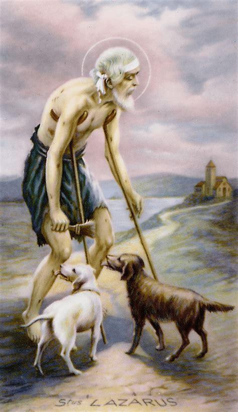 Lazarus Prayer Card