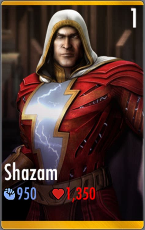 Shazam will identify any song in seconds. Shazam/Prime   Injustice Mobile Wiki   FANDOM powered by Wikia
