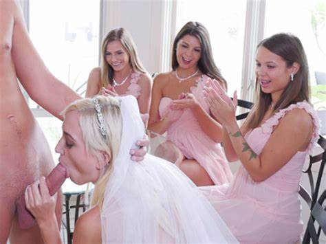 Family Wedding Boned For A Stepsis Shy Bridesmaids Sex With The Very Stepdad