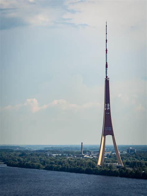 Rīgas radio un televīzijas tornis   The radio and TV tower ...
