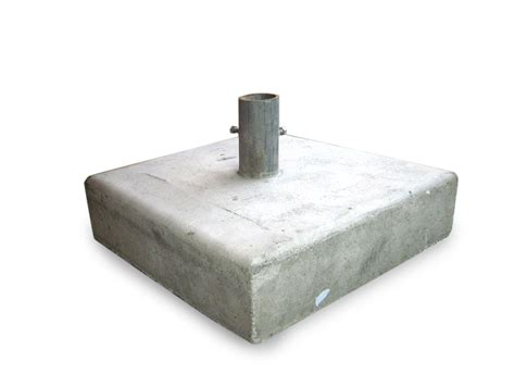 20″ X 20″ Concrete Sign Post Base
