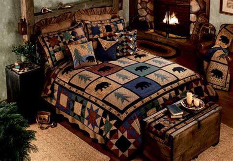 bear walk quilt bedding  donna sharp