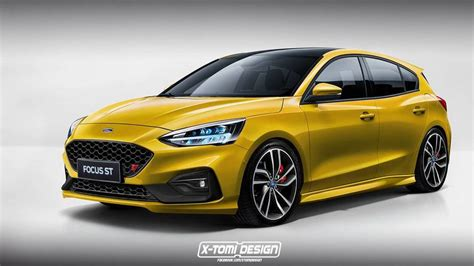 Neuer Ford Focus St of course someone has already rendered the new ford focus