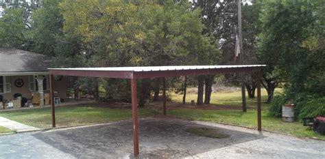 free standing all metal carport karnes county