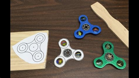 wooden fidget spinner template 360 176 diy 2 or less wooden marble fidget spinner
