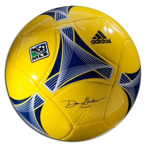 adidas 2013 MLS Glider Ball - vivid yellow/royal/black ...
