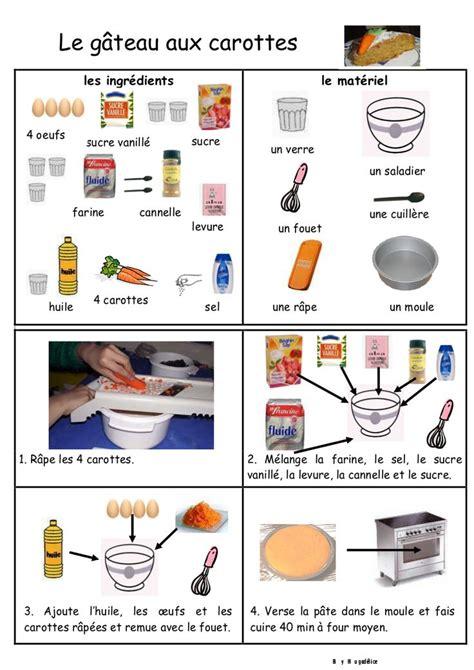 le gateau aux carottes recette maternelle recette