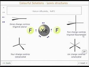 The Lewis structure of xenon difluoride - YouTube