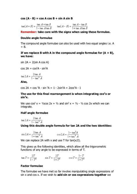 a level maths graph help revision c3 c4