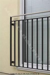 franzosischer balkon 56 03 schlosserei metallbau fritz With französischer balkon mit gerätecontainer garten