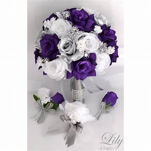 Purple And Silver Wedding Images - Wedding Dress
