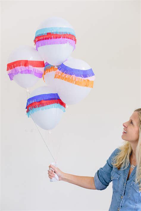 pinata balloons diy party decor allfreeholidaycraftscom