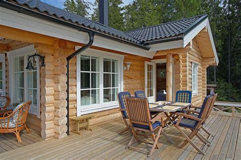 Holzwohnhaus Selber Bauen by M 246 Kki Onkamo 80 Kuusamo Hirsitalot