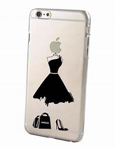 Coque Transparente Iphone 6 : coque transparente rigide my little black dress pour iphone 6 plus ~ Teatrodelosmanantiales.com Idées de Décoration