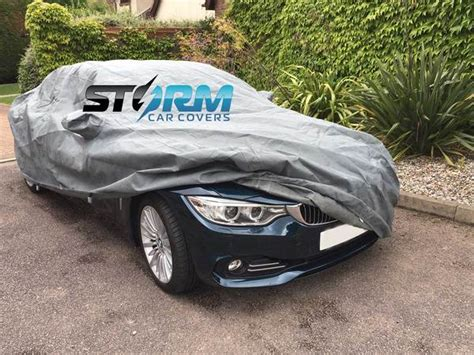 stormforce fitted bmw car cover  delivery warranty