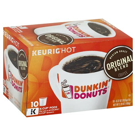 Последние твиты от dunkin' (@dunkindonuts). Galleon - Dunkin' Donuts Original Blend Coffee For K-cup Pods, Medium Roast, For Keurig Brewers ...