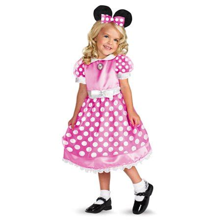 pink minnie mouse toddler halloween costume walmartcom