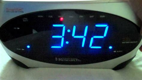 2007 Emerson Research SmartSet Alarm Clock Radio - YouTube