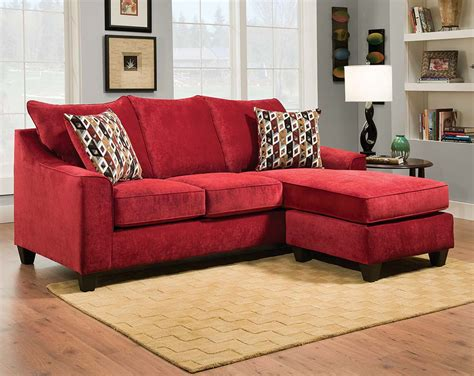 red sectional sleeper cheap red sectional sofa tourdecarroll com