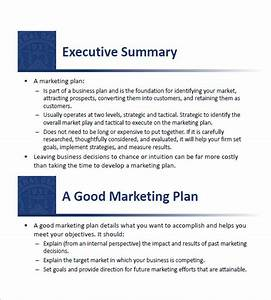Small business marketing plan template 13 free sample for Simple marketing plan template for small business