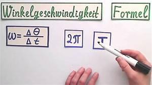 Winkelgeschwindigkeit Berechnen : winkelgeschwindigkeit die formel einfach erkl rt youtube ~ Themetempest.com Abrechnung