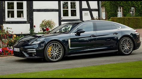 Porsche's 2021 panamera turbo s packs 620 horsepower: 2021 Porsche Panamera Turbo S Executive - YouTube