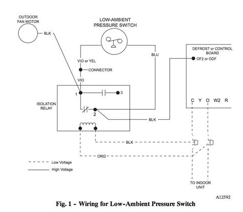 isolation relay wiring diagram honeywell l4064b combination fan and limit how to the temperatures and limits