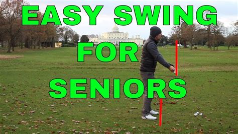Easy Golf Swing by Easy Golf Swing For Seniors And With Poor