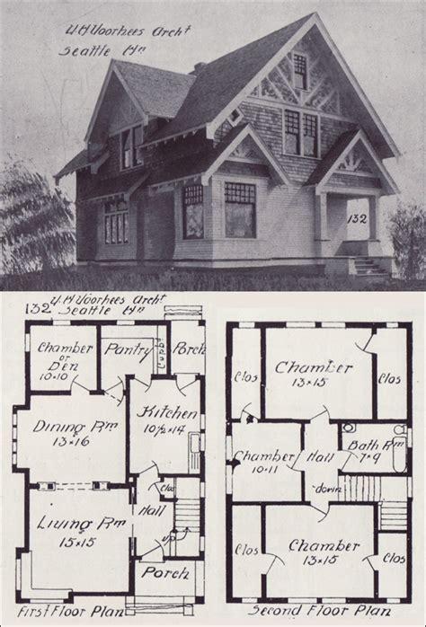 seattle homes tudor style house plan design    western home builder victor